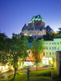 Chateau Frontenac, Quebec City, Quebec, Canada Photographic Print by Roy Rainford
