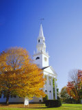 Litchfield Church, Connecticut, New England, USA Photographic Print by Roy Rainford