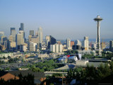 Skyline of Seattle, Washington State, USA Photographic Print by Firecrest Pictures