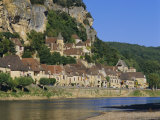 La Roque Gageac, Dordogne, Aquitaine, France, Europe Photographic Print by I Vanderharst