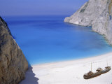 Shipwreck Cove, Zakinthos, Ionian Islands, Greece, Europe Photographic Print by Firecrest Pictures