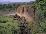 Thomson Falls on the Blue Nile, Ethiopia, Africa Photographic Print by I Vanderharst