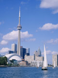 The C.N.Tower and the Toronto Skyline, Ontario, Canada Photographic Print by Roy Rainford