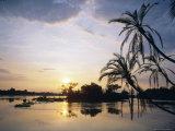 Zambezi River, Zimbabwe, Africa Fotodruck von I Vanderharst