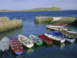 Dalkey Island and Coliemore Harbour, Dublin, Ireland, Europe Photographic Print by Firecrest Pictures