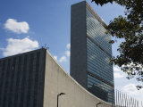 The United Nations Building, Manhattan, New York City, New York, USA Photographic Print by Amanda Hall