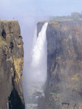 Victoria Falls, Zimbabwe Fotodruck von I Vanderharst