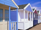 Beach Huts, Southwold, Suffolk, England Photographic Print by Amanda Hall