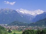 Interlaken, Jungfrau Region, Bernese Oberland, Swiss Alps, Switzerland, Europe Photographic Print by Roy Rainford