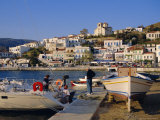 Batsi, Andros, Cyclades Islands, Greece, Europe Photographic Print by Firecrest Pictures