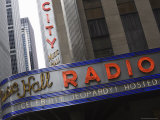 Radio City Music Hall, Manhattan, New York City, New York, United States of America, North America Photographic Print by Amanda Hall