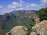 The Three Rondanells, Blyde River Canyon, South Africa, Africa Photographic Print by Firecrest Pictures