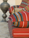 Arabic Cushions, Dubai, United Arab Emirates, Middle East Photographic Print by Amanda Hall