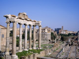 The Roman Forum in Rome, Lazio, Italy Photographic Print by Roy Rainford