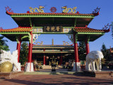 The Main Chinese Temple in Kota Kinabalu, Sabah, Island of Borneo, Malaysia, Asia Photographic Print by Louise Murray
