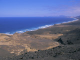 Atlantic Coastline, Cofete Beach, Fuerteventura, Canary Islands, Spain, Europe Photographic Print by Firecrest Pictures