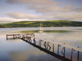 Jetty and Boat, Nova Scotia, Canada Photographic Print by Firecrest Pictures