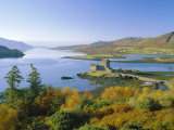 Eilean Donan (Eilean Donnan) Castle, Dornie, Highlands Region, Scotland, UK, Europe Photographic Print by Roy Rainford