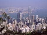 Hong Kong Island Skyline and Victoria Harbour Beyond, Hong Kong, China, Asia Photographic Print by Amanda Hall