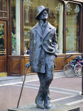 Statue of James Joyce, Dublin, County Dublin, Ireland, Eire Photographic Print by Roy Rainford