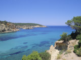 View Near Cala Portinatx, Ibiza, Balearic Islands, Spain, Europe Photographic Print by Firecrest Pictures