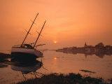 The Harbour, Bosham, Chichester, West Sussex, England, UK Fotografisk tryk af Roy Rainford
