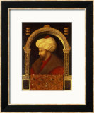 The Sultan Mehmet II (1432-81) 1480 Framed Giclee Print by Gentile Bellini