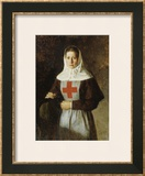 The Nurse Framed Giclee Print by Nikolai Alexandrovich Yaroshenko