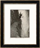 The Final Problem the Death of Sherlock Holmes Framed Giclee Print by Sidney Paget