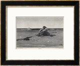 Pirate is Dumped by His Companions Framed Giclee Print by Howard Pyle