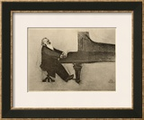 Johannes Brahms German Musician Framed Giclee Print