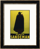 Sandeman Port, The Famous Silhouette Framed Giclee Print by Georges Massiot