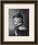 Otto Eduard Leopold Bismarck Framed Giclee Print by Fritz Werner