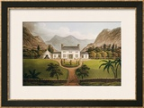 Bonaparte's Mal-Maison at St. Helena, 1821 Framed Giclee Print by John Hassell