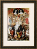 The Fak Hongs, circa 1920 Framed Giclee Print