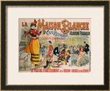 La Maison Blanche, circa 1900 Framed Giclee Print