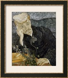 Portrait of Dr. Gachet Framed Giclee Print by Vincent van Gogh