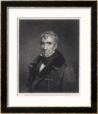 William Henry Harrison President of the United States Who Died in Office after Only One Month Framed Giclee Print by R.w. Dodson