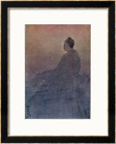 The Victory of Buddha Framed Giclee Print by Abanindro Nath Tagore