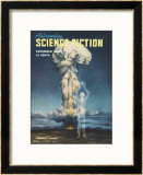 An Article in This Popular Magazine Questions Whether Nuclear Power is a Threat or Holds Promise Framed Giclee Print by Pattee