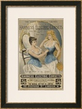 Harness' Electric Corset for Women of All Ages Framed Giclee Print