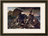 The Raft of the Medusa, 1819 Impressão giclée emoldurada por Théodore Géricault