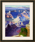 Grand Canyon National Park, Arizona Framed Giclee Print by Gunnar Widforss