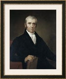 John Marshall Framed Giclee Print by James Reid Lambdin