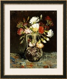 Bouquet of Flowers Framed Giclee Print by Vincent van Gogh