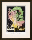 Loie Fuller Framed Giclee Print by Jules Chéret