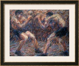 Boxe Framed Giclee Print by Giuseppe Cominetti