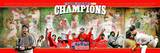 2007 Red Sox World Series Champions Panoramic Photo Photo
