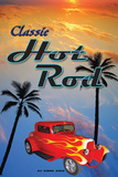 Classic Hot Rods Tin Sign