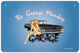 Grease Monkey Garage Tin Sign